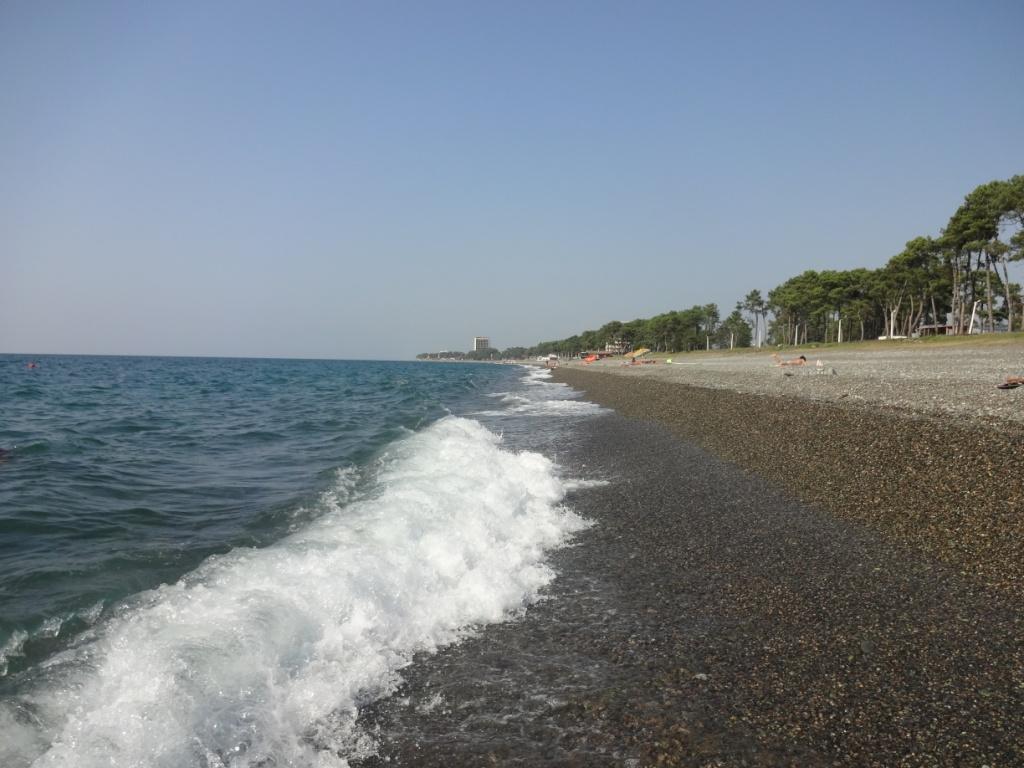 кобулети море пляж