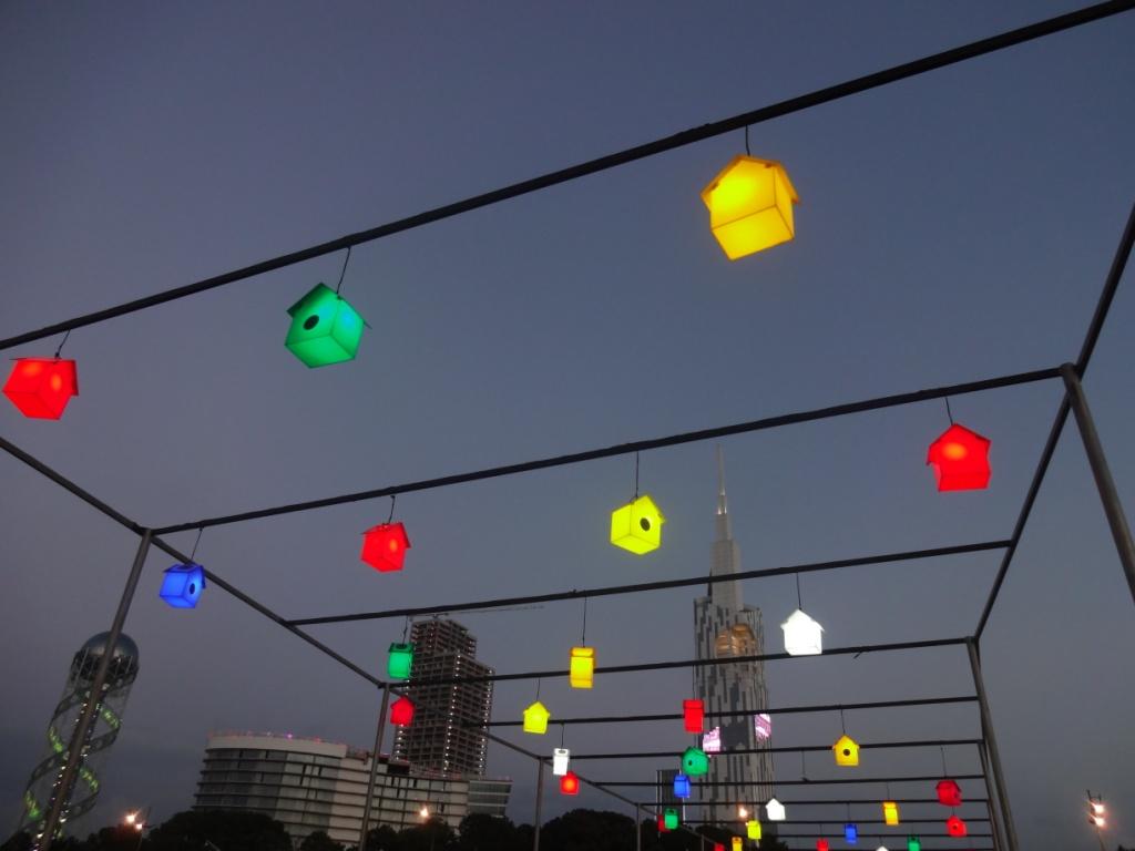 фонари скворечники батуми