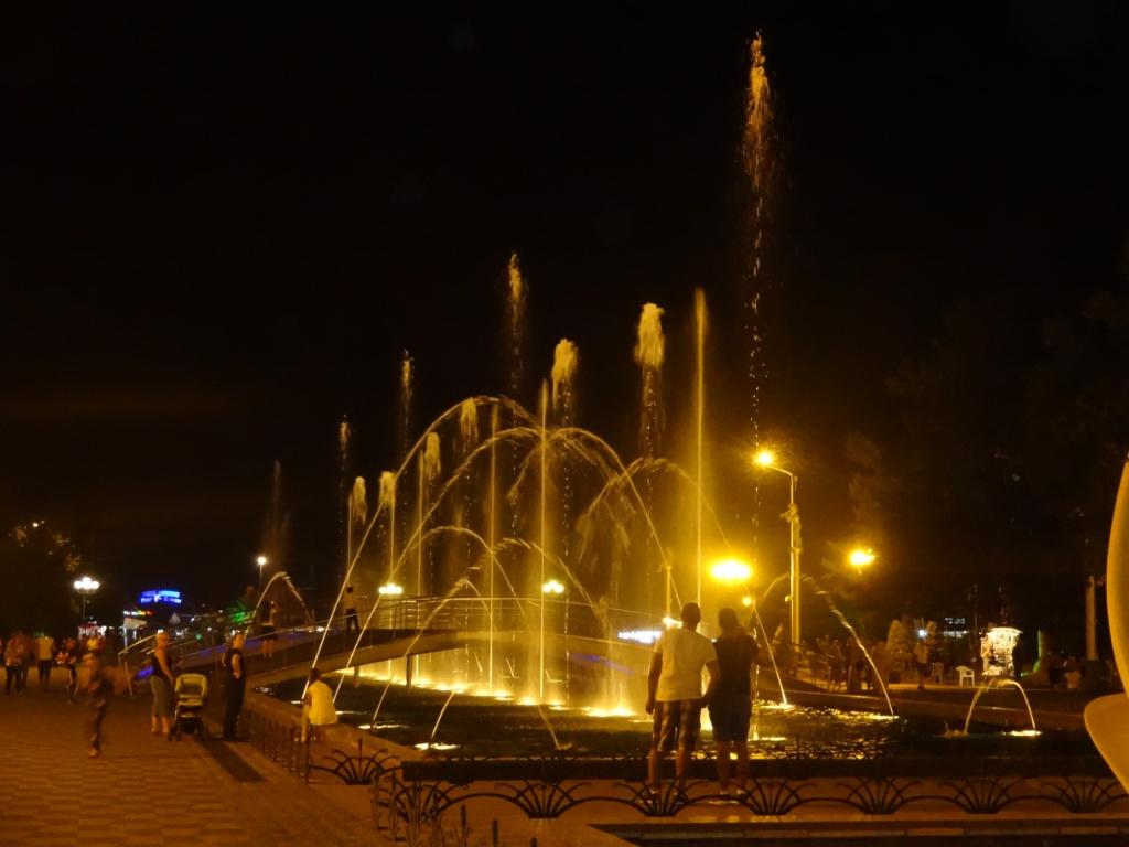фонтан батуми