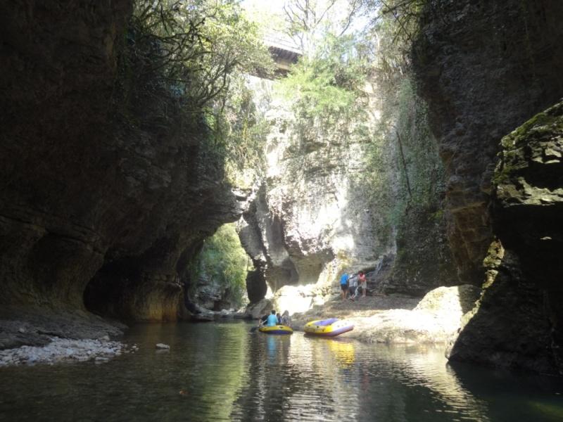 мартвильский каньон грузия
