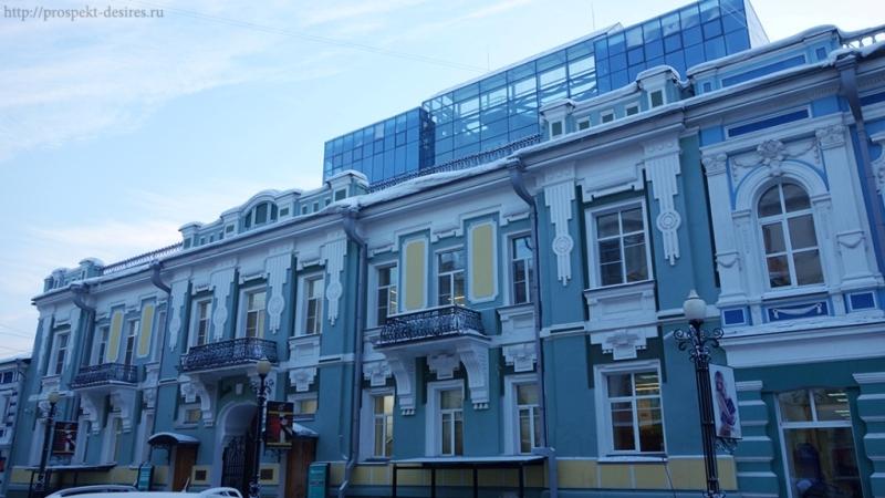 Здания Иркутска