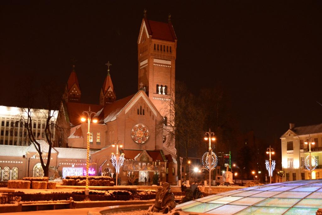 Минск костел святого Симеона и святой Елены