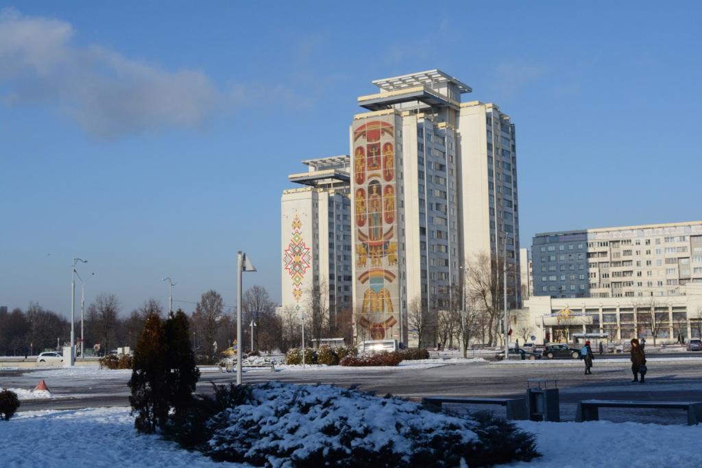минск советские многоэтажки