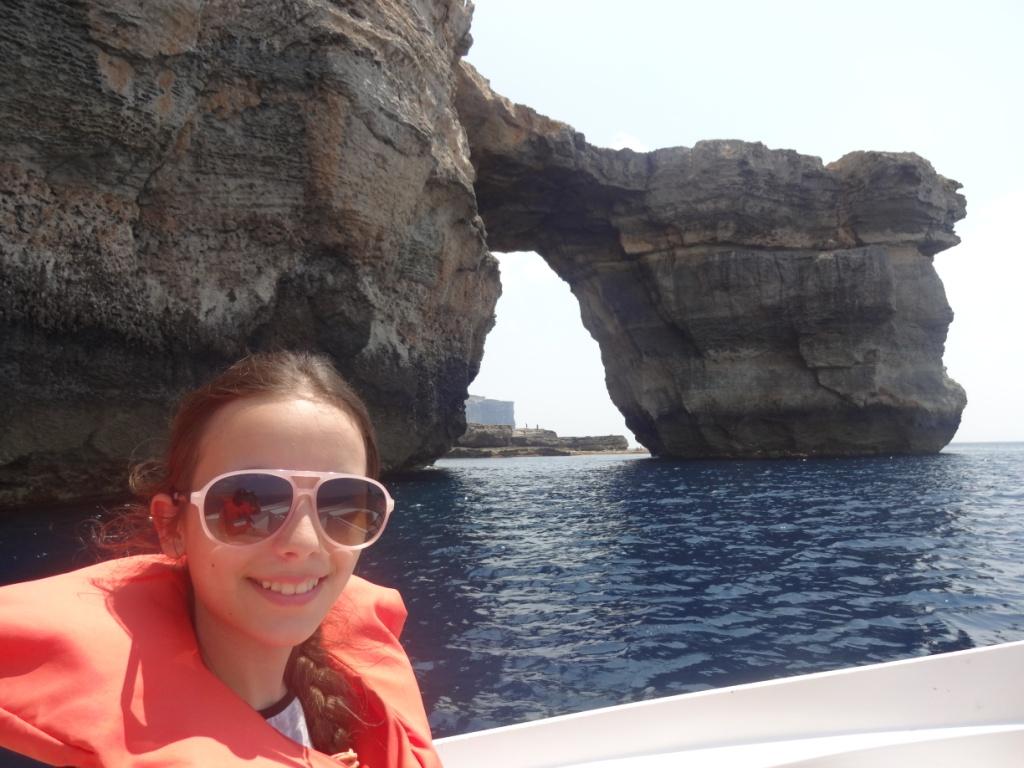 арка лазурное окно Мальта