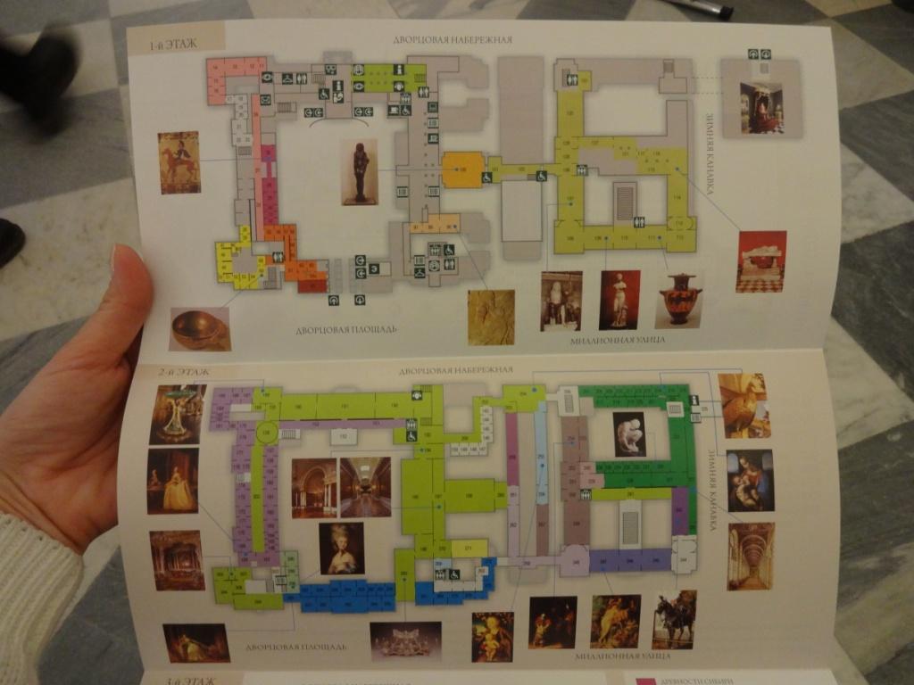эрмитаж карта