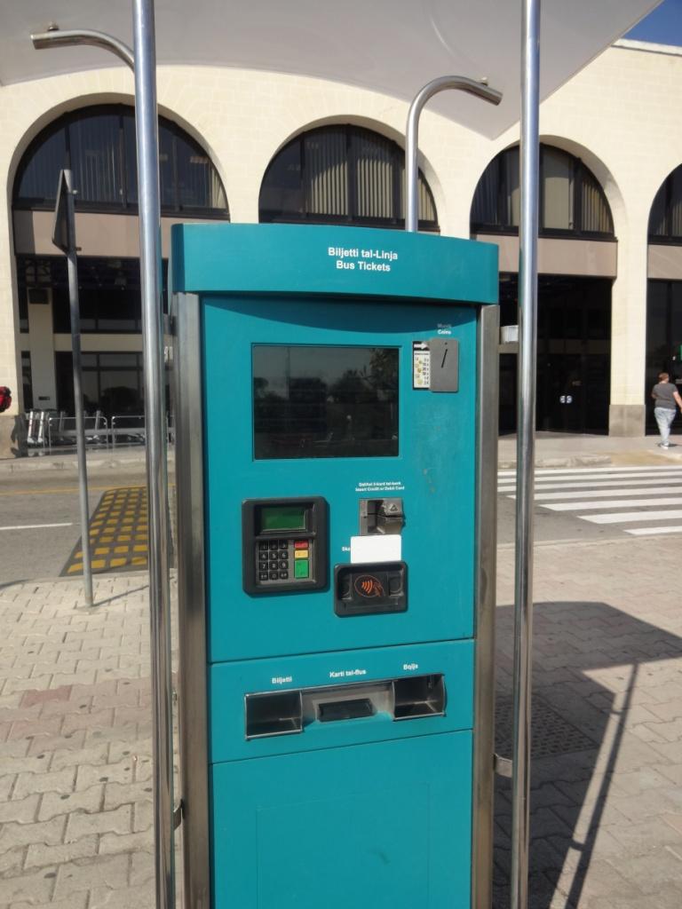 автомат по продаже билетов на автобус мальтаавтомат по продаже билетов на автобус мальта
