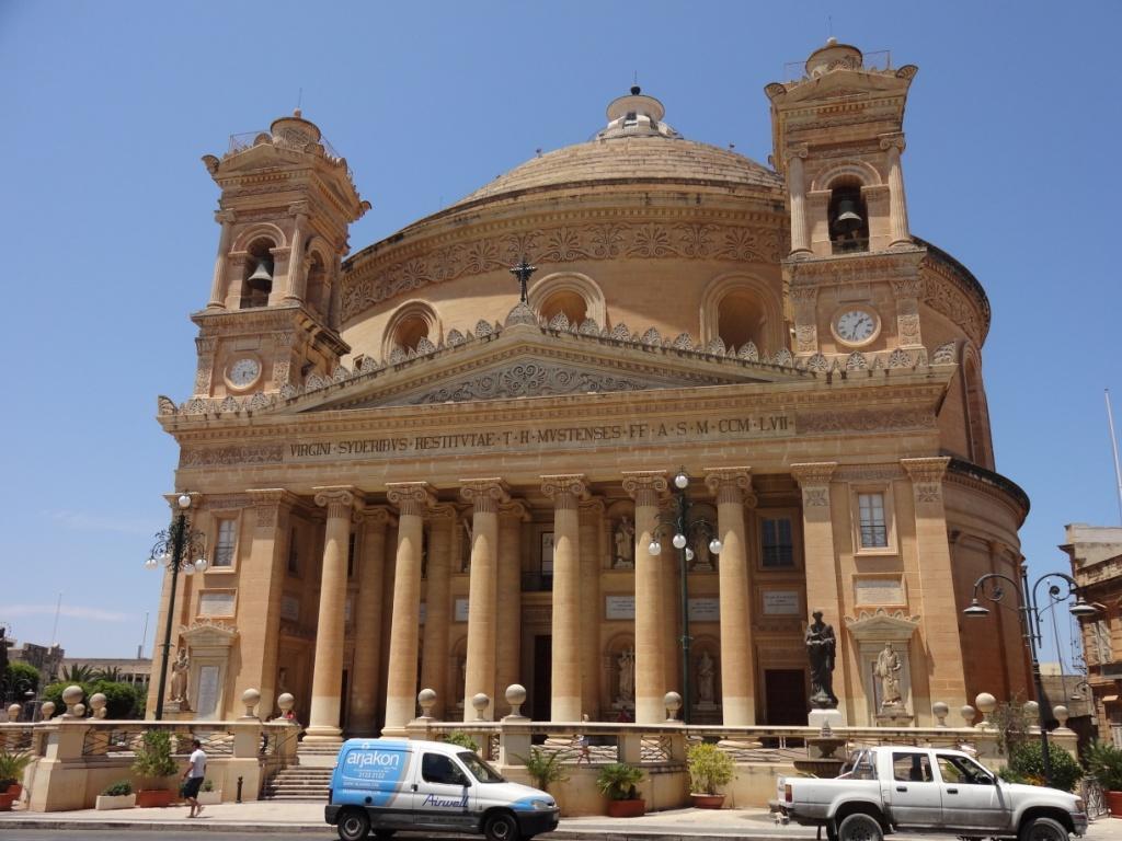 Моста самый большой купол Мальта