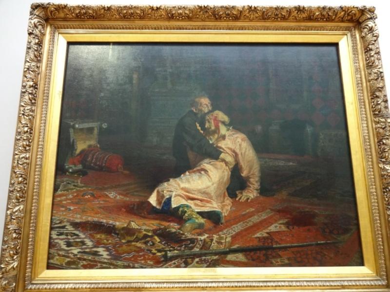 Репин - Иван Грозный и сын его Иван