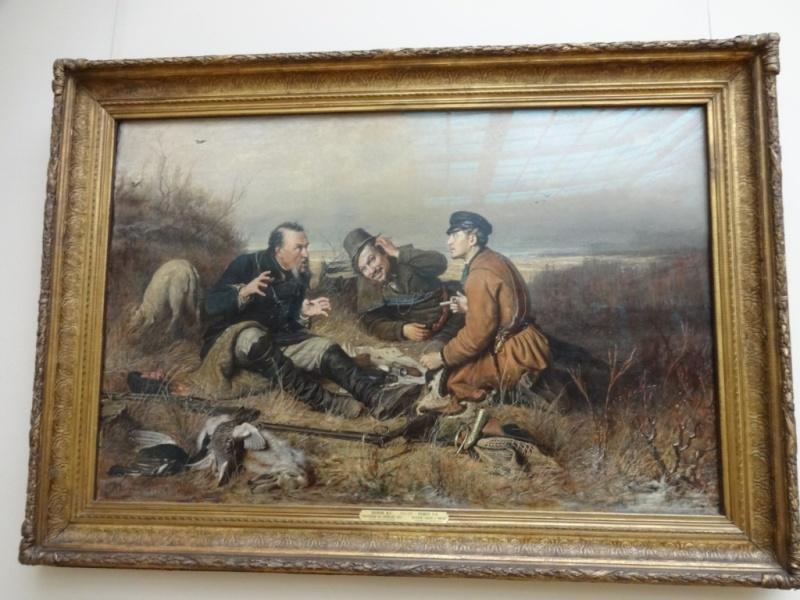 Перов - Охотники на привале