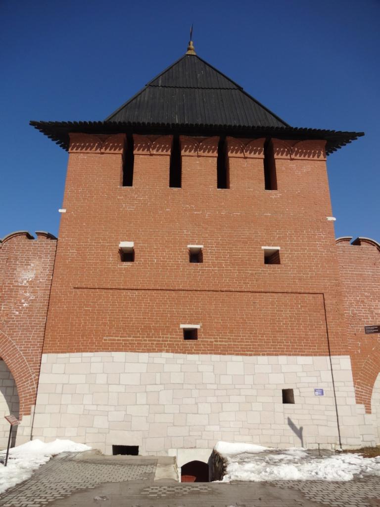 башня на погребу тула кремль