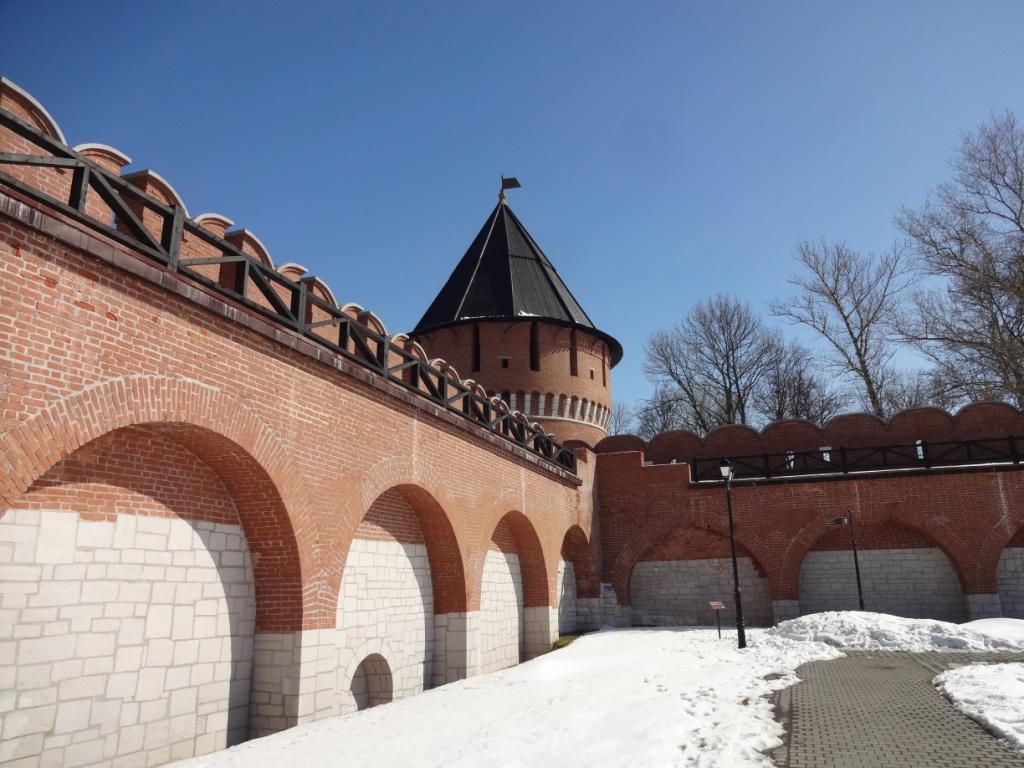 ивановская башня тула кремль