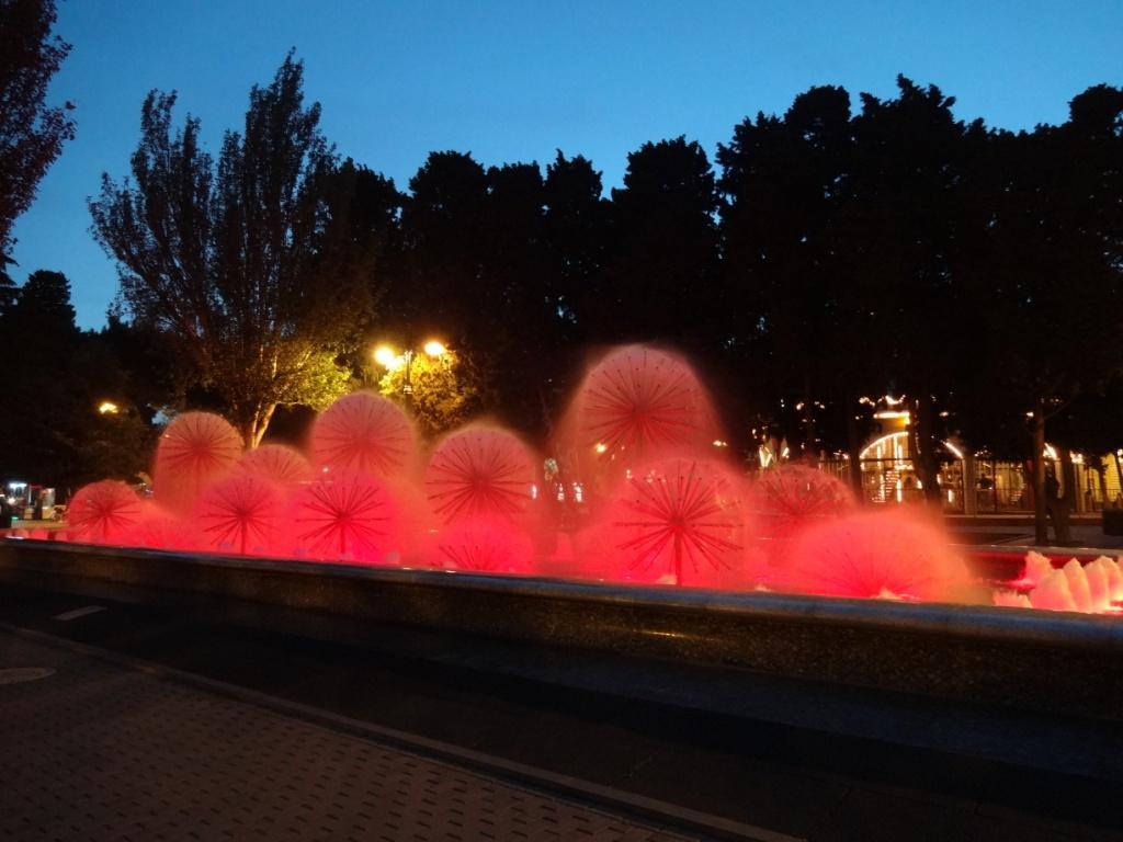 баку фонтаны