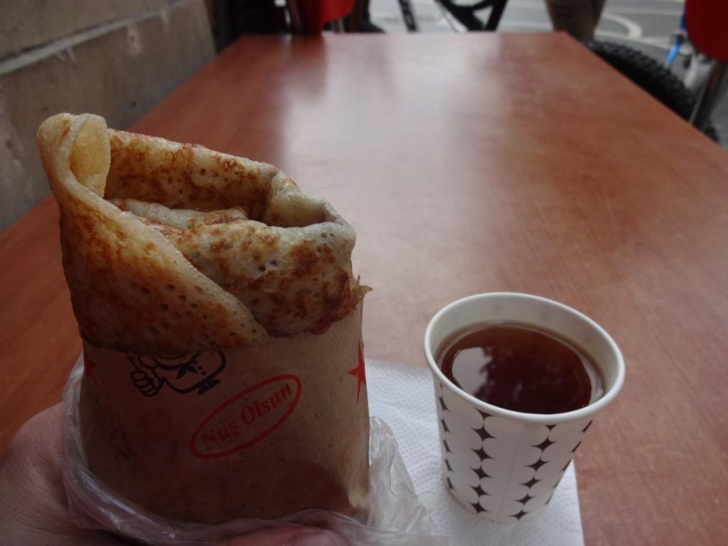блины баку азербайджан уличная еда
