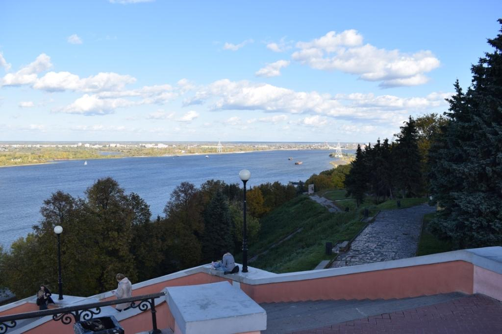 Нижний Новгород вид на воолгу