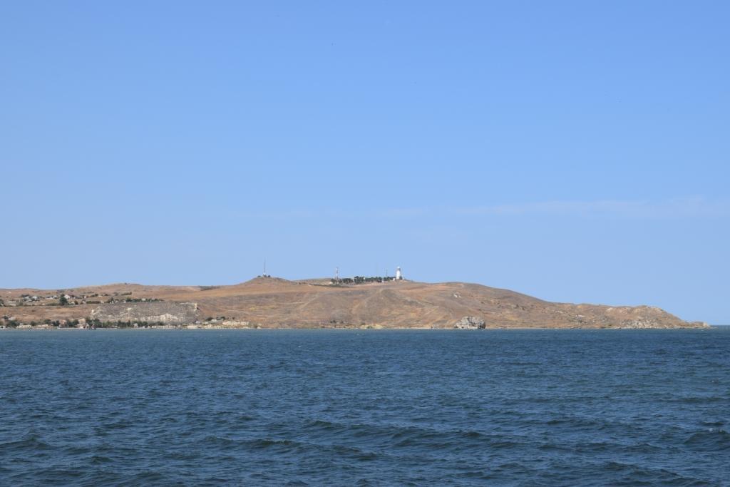 полуостров крым вид с парома