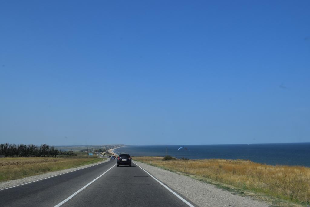 таманский полуостров дорога в крым