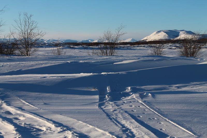 камчатка зимой