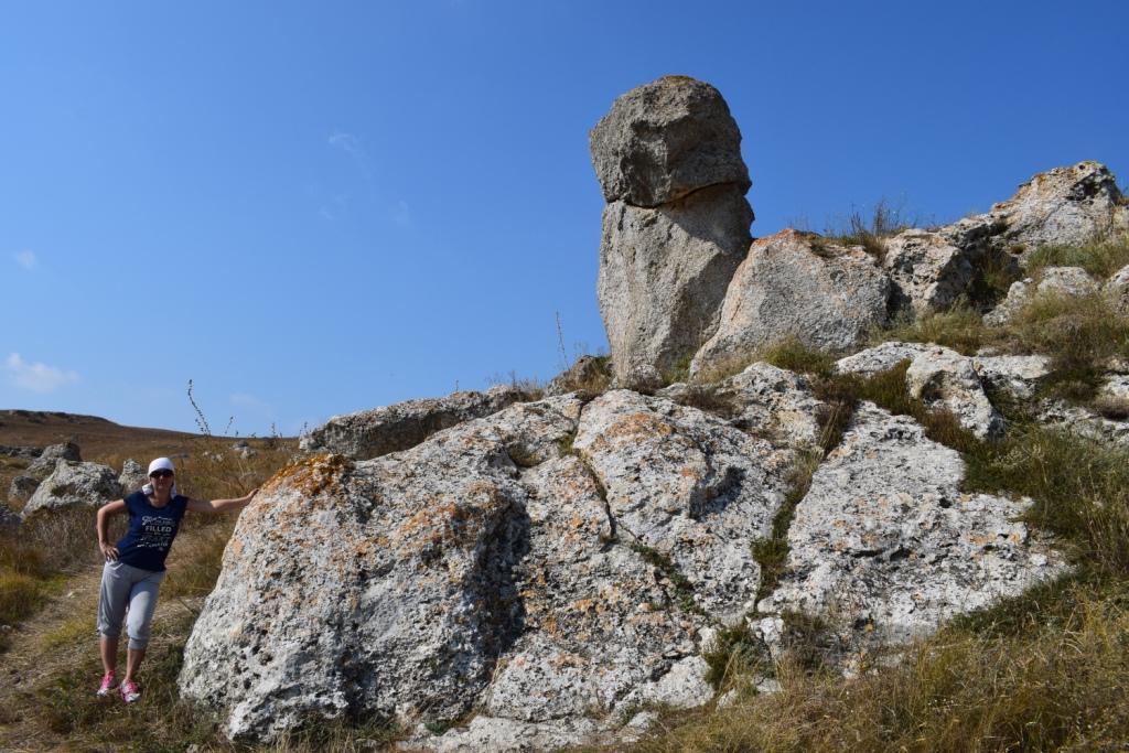 каменный останец казантип