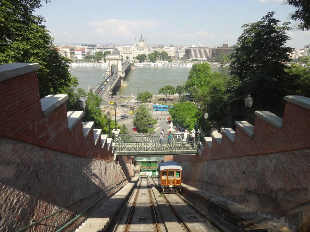 Фуникулер в Будапеште