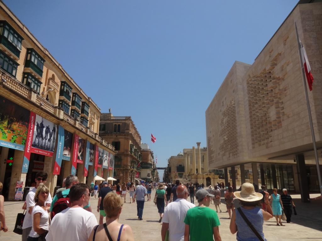 улица Республики Валетта Мальта