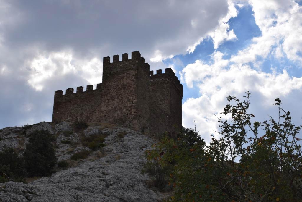 крепость судак