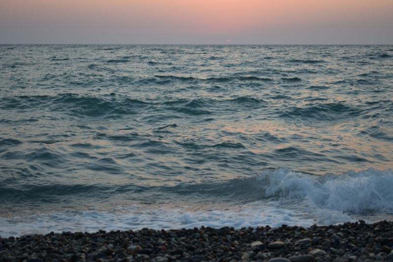 море адлер закат