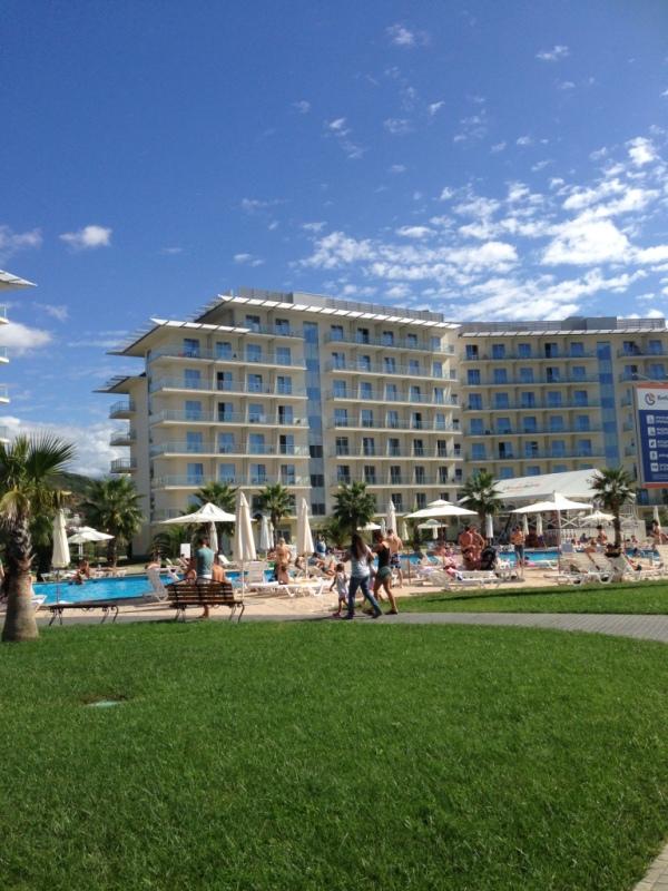 территория сочи парк отель бассейн