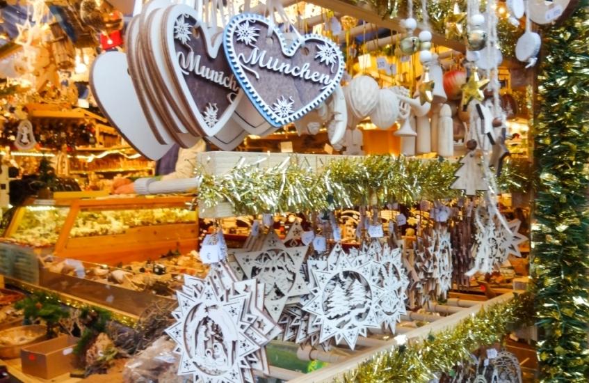 мюнхен рождественские ярмарки