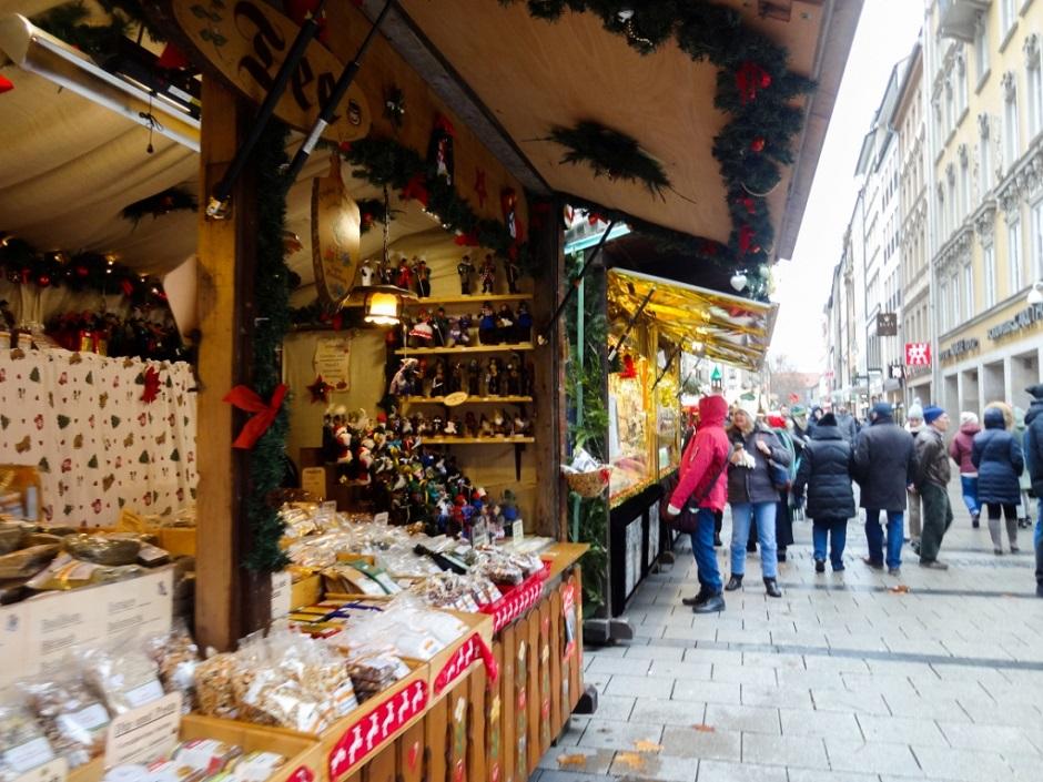 мюнхен рождественская ярмарка