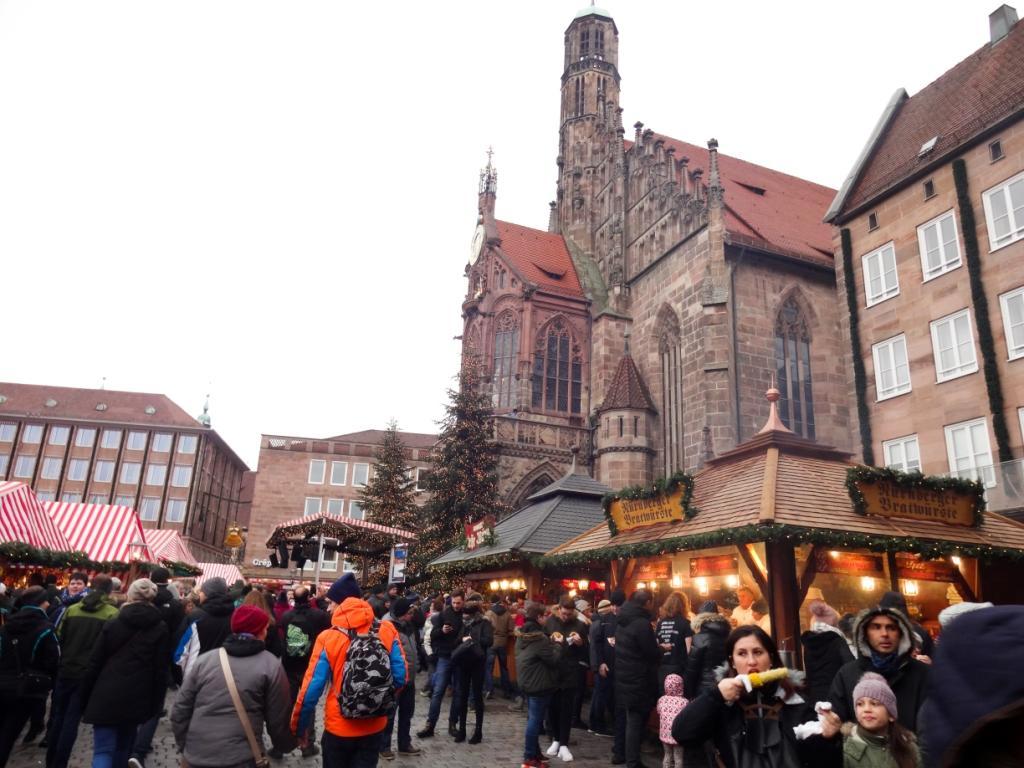 нюрнберг рождественская ярмарка