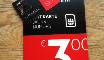 LMT: дешевый интернет и звонки в Латвии для туристов