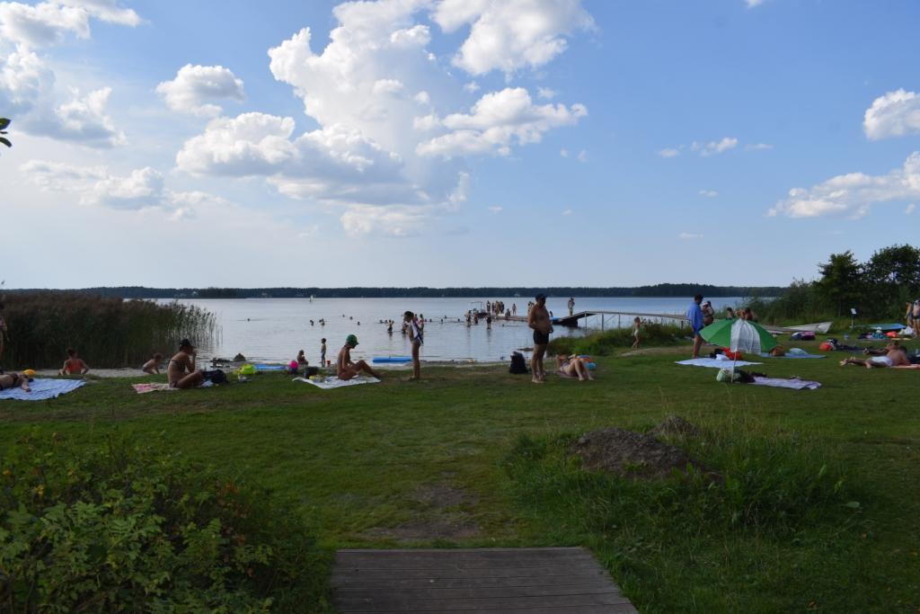 озеро балтезерс пляж латвия