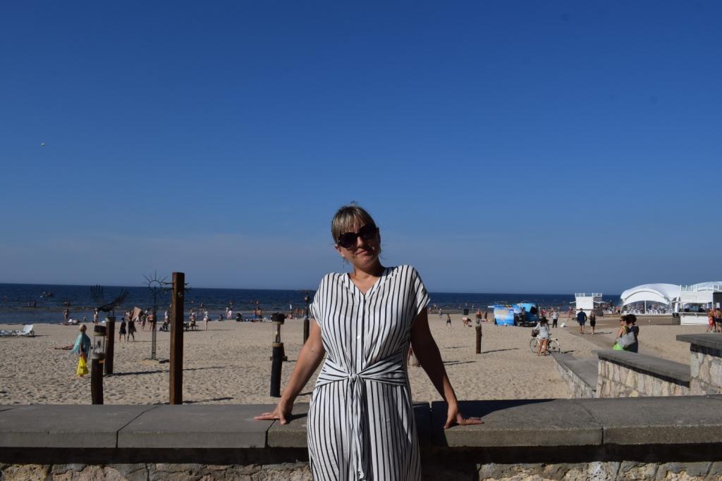 пляж в юрмале