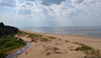 Где летом искупаться недалеко от Риги?