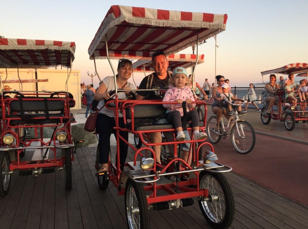 аренда двухместного велосипеда в Сочи