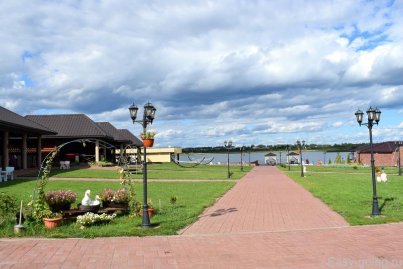 Braslaw Lakes Hotel территория отеля