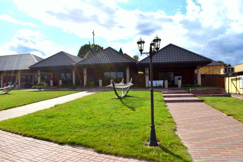 Braslaw Lakes Hotel бунгало