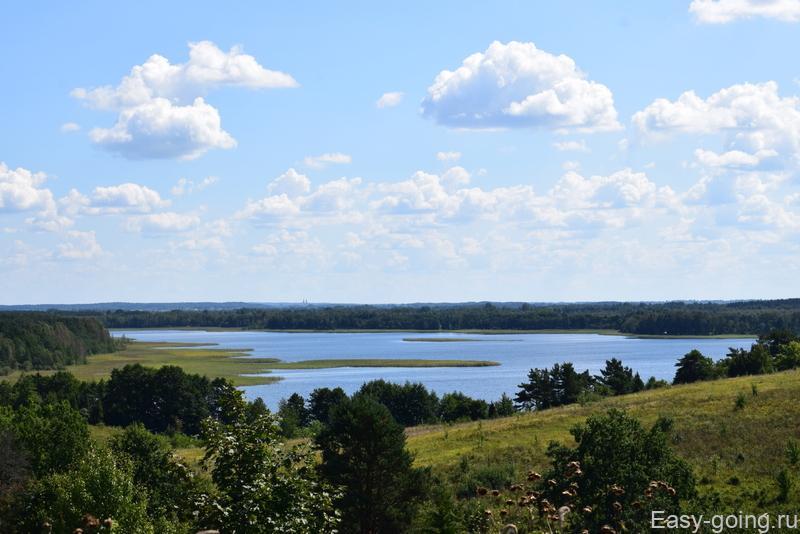 виды с коры маяк на браславские озера