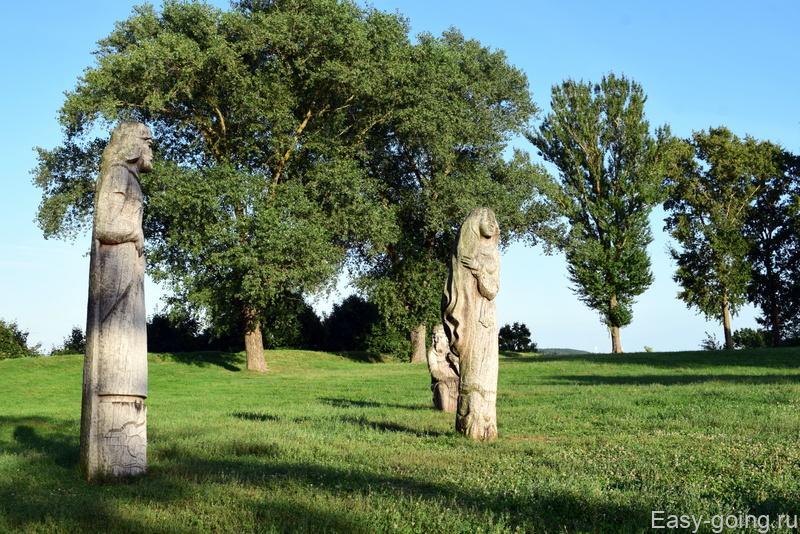 идолы на замковой горе браслав