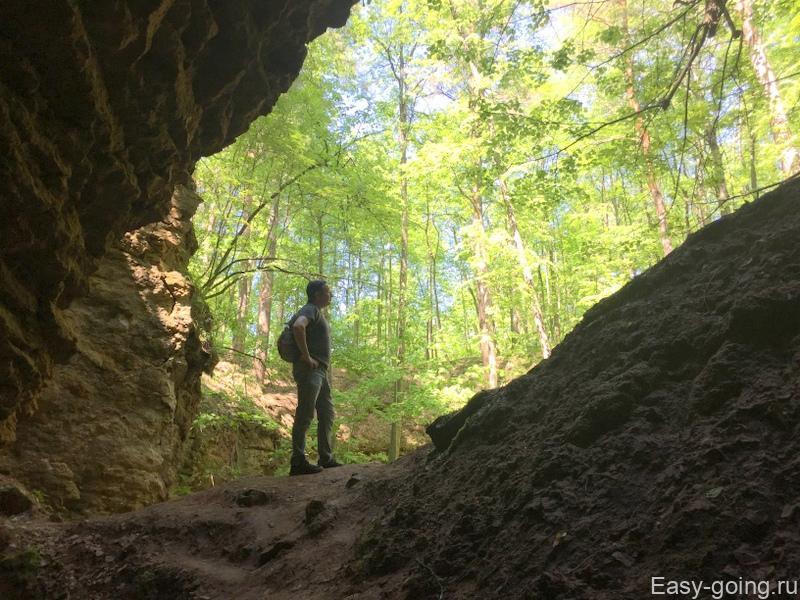 ичалки пещера холодная