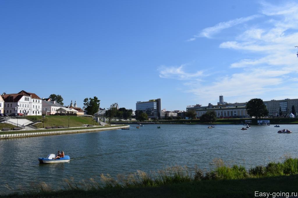 река свислочь минск центр
