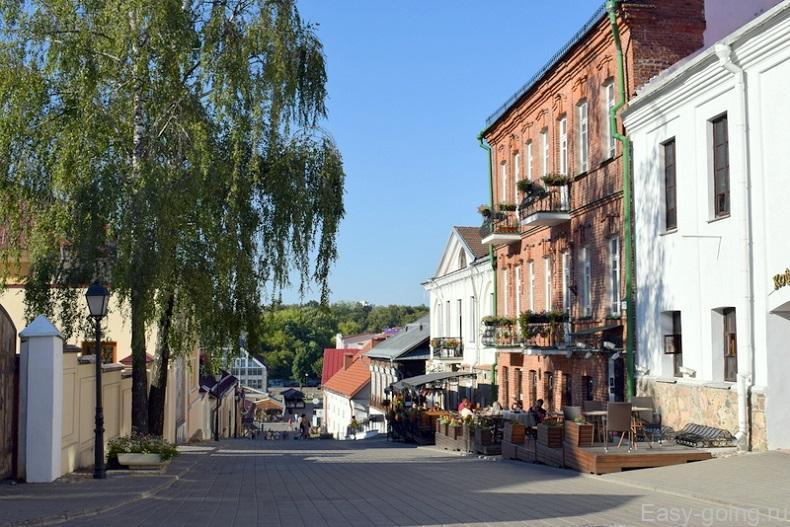 улицы верхнего города минск