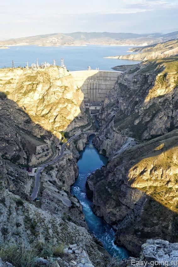 Чиркейская ГЭС Дагестан