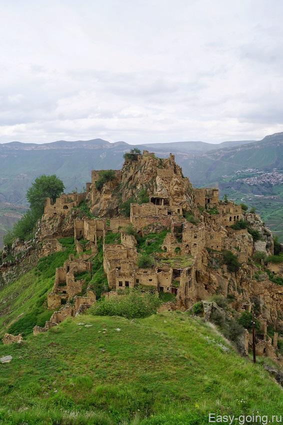 заброшенный поселок Гамсутль дагестан
