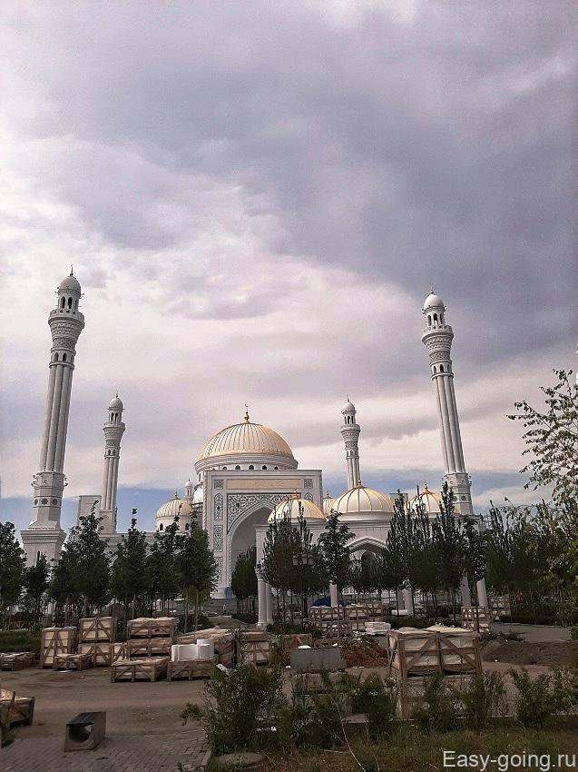 Мечеть в Шали Чечня