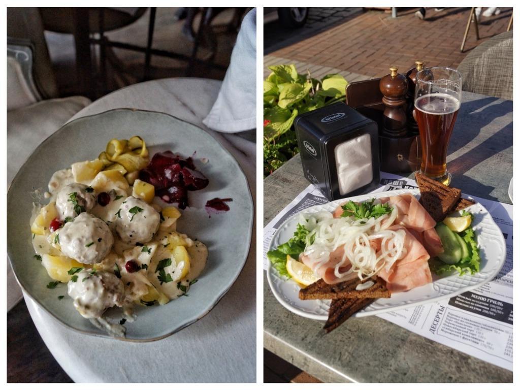 еда в калининграде