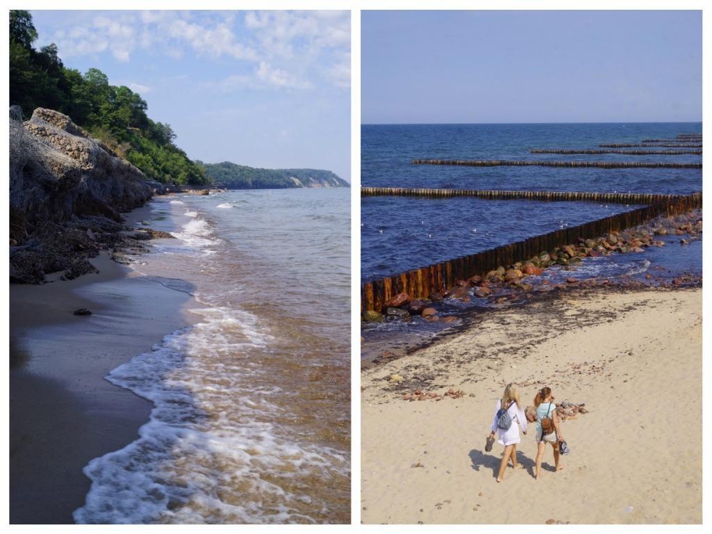 Море и пляж в Светлогорске