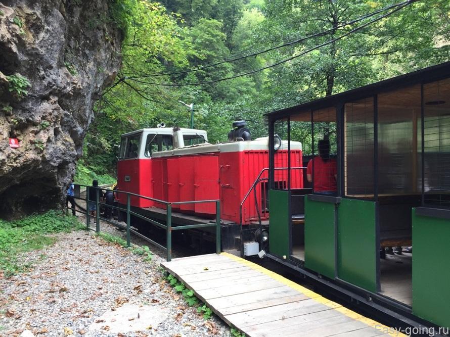 узкоколейная железная дорога гуамка