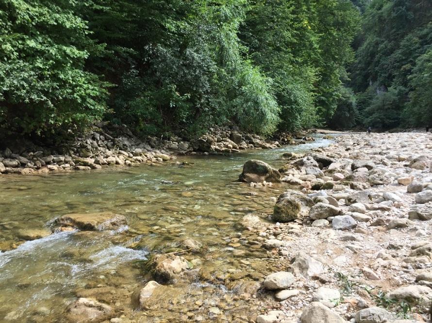 река курджипс гуамское ущелье