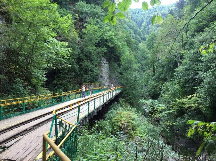 Сухая балка гуамское ущелье